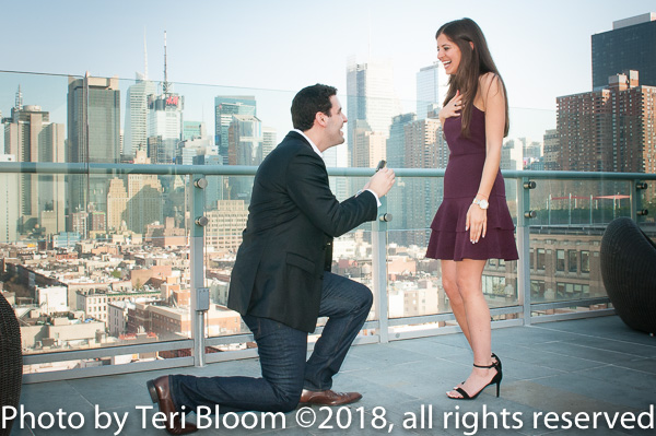 wedding proposal photographer, wedding engagement party photographer ny city,  wedding shower photographer nyc